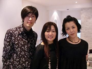 Yuko Yamashita, creator of YUKO Permanent Hair Straightening with Yuhei and Reiko